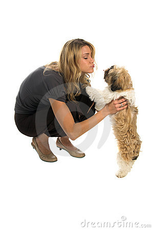 Free Pooch Smooch Stock Image - 1933461