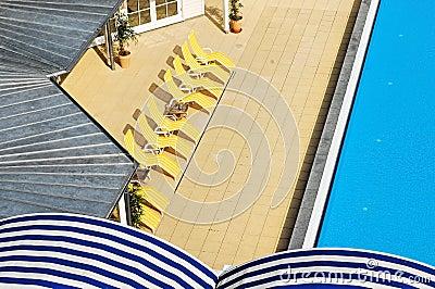 Pool area at wellness spa