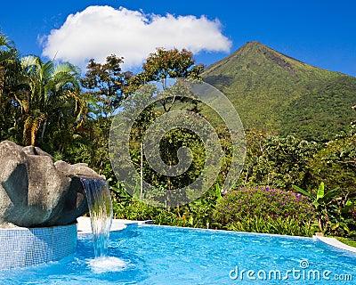 Pool at Arenal Volcano
