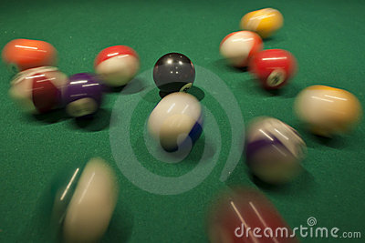 Pool Ball Break