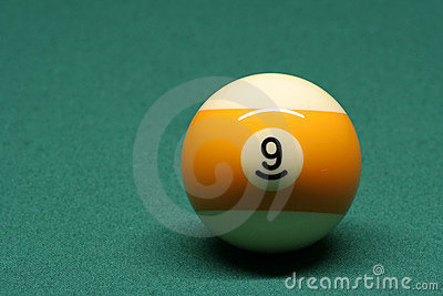 Pool ball number 09
