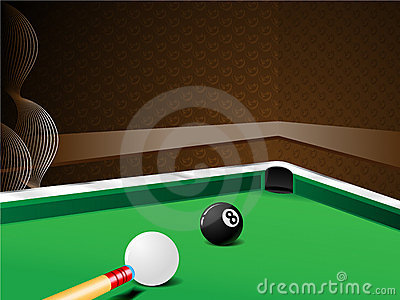 Pool Ball Shot