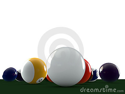 Pool Balls Royalty Free Stock Images - Image: 21909779
