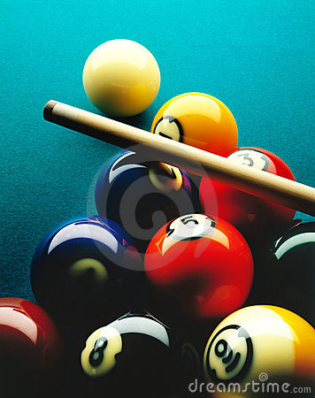 Free Pool Balls Royalty Free Stock Photos - 7356218