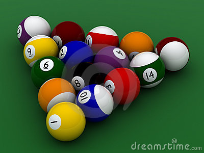 Pool balls hight quality