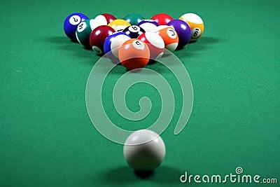 Pool Balls and Table