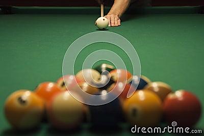 Pool (billiard) game