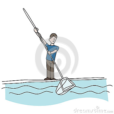 Pool Cleaning Supplies Clip Art