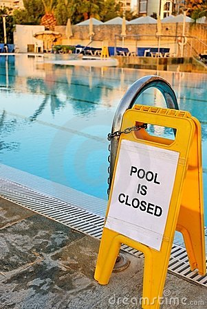 Pool Is Closed