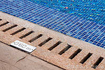 Pool and depth indicator