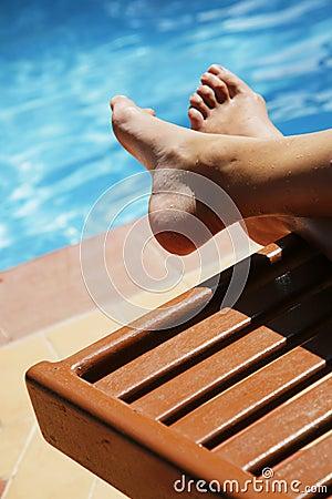 Free Pool Feet Stock Photos - 3932273