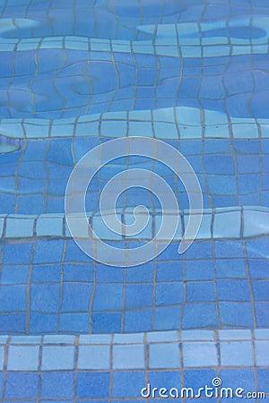 Pool floor texture