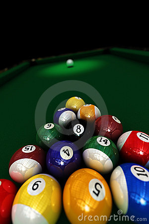 Free Pool Game Royalty Free Stock Photography - 5679757