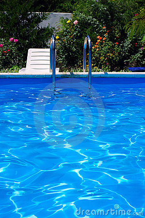 Pool at the garden.