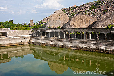 Pool at Gingee Fort