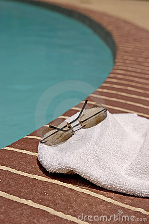 Pool and Glasses