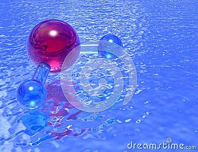 Pool of H2O - lavender