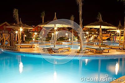 Pool at hotel or resort