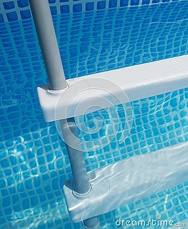 Free Pool Ladder Royalty Free Stock Image - 34087336
