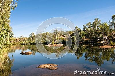 Pool at Manning Gorge, Australia