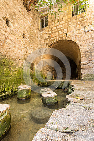 Free Pool Of Siloam, Jerusalem, Israel Stock Photos - 64273303