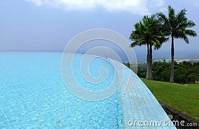 Pool over  Kailua-Kona