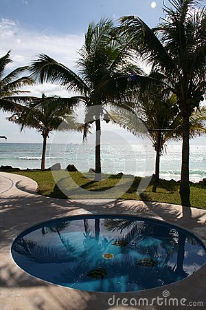 The Pool at Playa del Carmen - Mexico