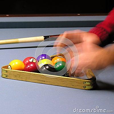 Free Pool Player 02 Royalty Free Stock Photo - 1489365
