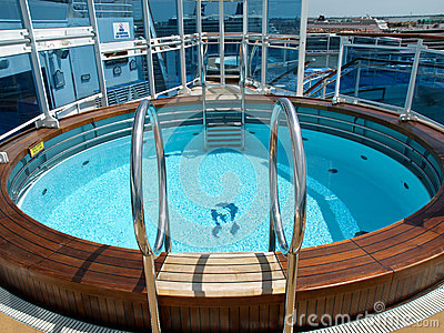 Pool on the ship