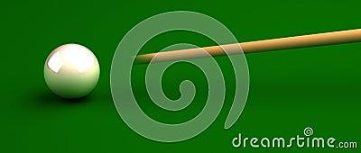Pool stick
