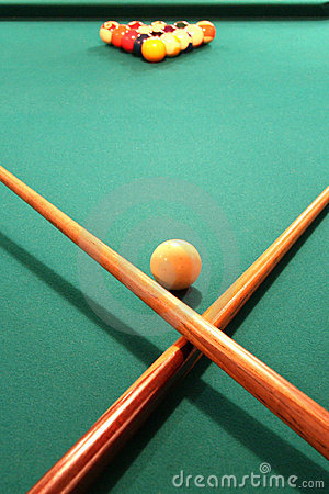 Free Pool Table Stock Images - 1354604
