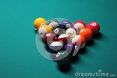 Pool Table, Pool Balls