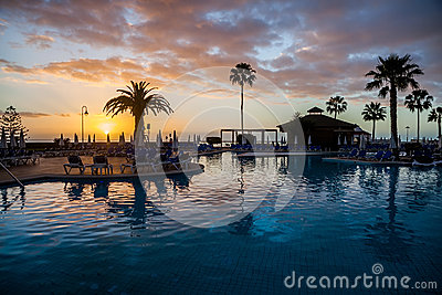 Pool on Tenerife