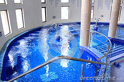 Pool - spa and jacuzzi with thermal water