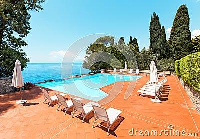 Pool of a villa