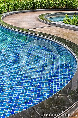 Pool and walkway