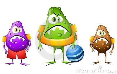 Stock photos germs viruses bacteria clipart