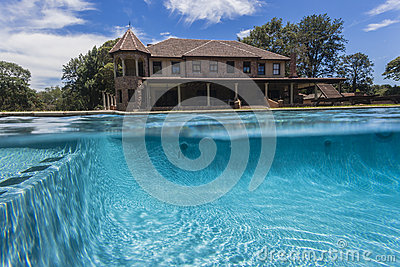 Pool Waterline Home
