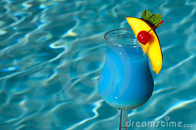 Poolside Blue Hawaiian