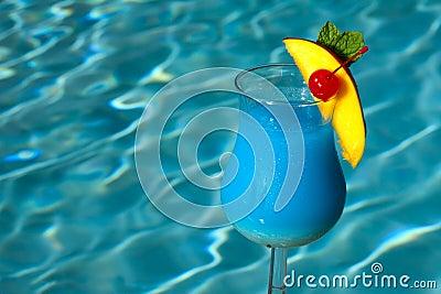Poolside Blue Hawaiian