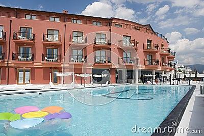 Poolside at Resort Hotel
