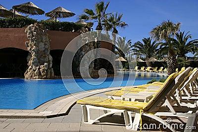 Poolside Resort (Landscape)