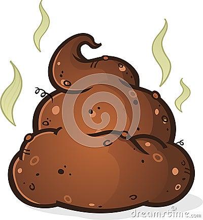 Free Poop Pile Cartoon Stock Photo - 41493120
