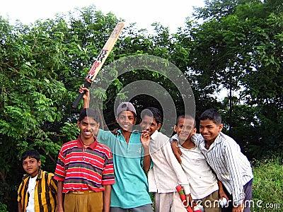 Poor Children Editorial Stock Photo