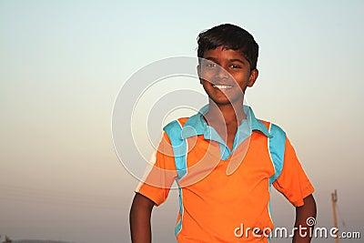 Poor Indian Boy