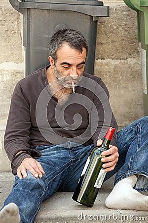 poor man drunk royalty free stock photo image 15642925