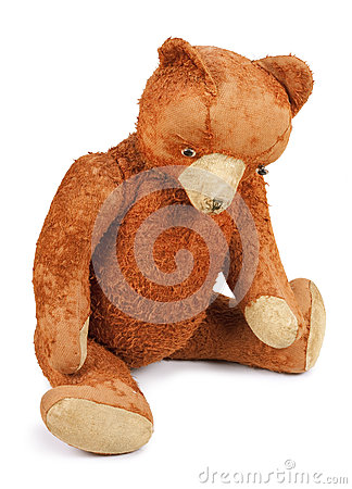 Free Poor Old Taddy Bear Stock Image - 64599211