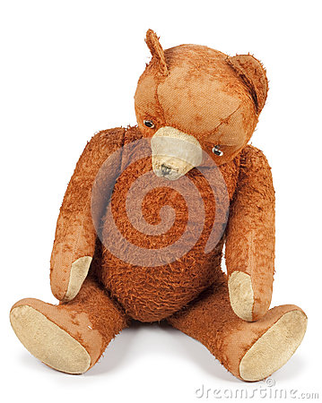 Free Poor Old Taddy Bear Stock Image - 64599221
