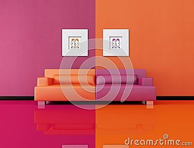 Pop-art lounge