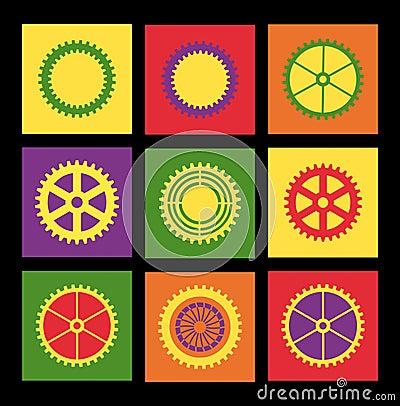 Free Pop Art Pattern Stock Image - 48048361